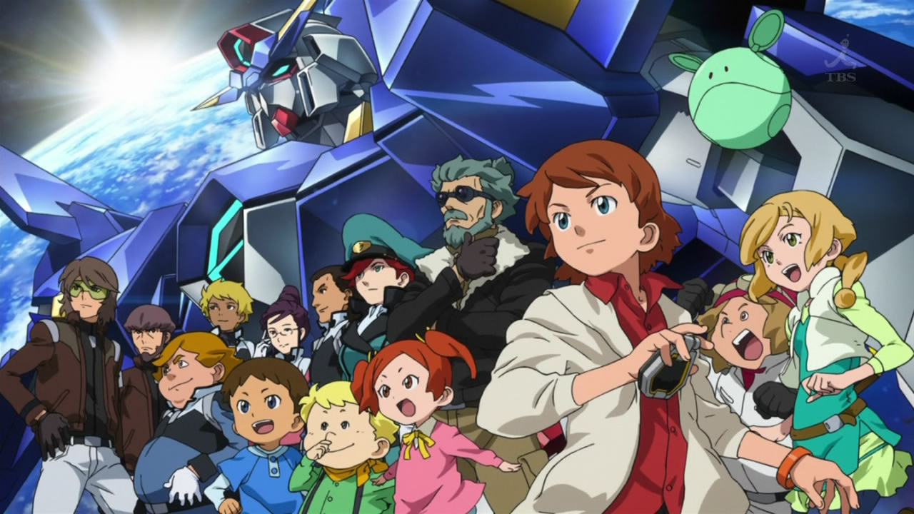 Anime Characters Age : Mobile suit gundam age absolute anime